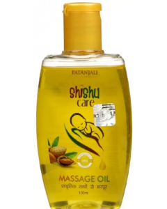 Patanjali Ayurveda Shishu Care Massage Oil Pack of 5