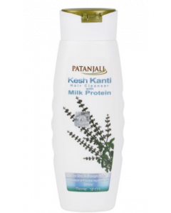 Patanjali Ayurveda Kesh Kanti Milk Protein Hair Cleanser Pack of 2