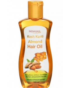 Patanjali Ayurveda Kesh Kanti Almond Hair Oil Pack of 4