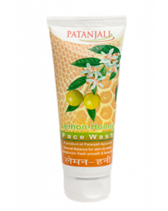 Patanjali Ayurveda Lemon Honey Face Wash Pack of 10