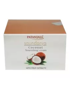 Patanjali Ayurveda Saundarya Coconut Nourishing Cream Pack of 6