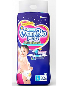 Mamy Poko Pants Extra Absorb Diaper L - 32 diapers