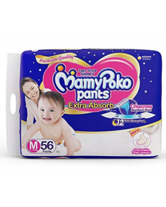 Mamy Poko Pants Extra Absorb Diaper M - 56 diapers