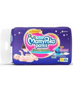 Mamy Poko Pants Extra Absorb Diaper S - 42 diapers