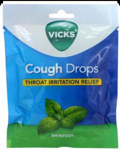 Vicks Vcd Bag Menthol 20S Cough Drop