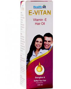 Healthvit E-Vitan Vitamin E Hair Oil - 100 ml