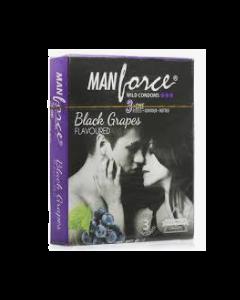 Manforce Wild Condom Black Grapes - Flavoured - 20 condoms