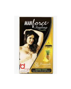 Manforce Staylong Condom Combo (Orange + Pineapple)	 - Flavoured