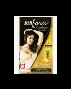 Manforce Staylong Condom Combo (Orange + Pineapple) - Flavoured