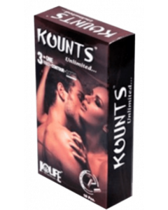 Kounts Condom Chocolate Pack Of 2 - Flavoured