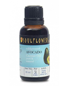 Soulflower Coldpressed Avocado Carrier Oil - 30 ml