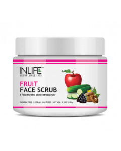Inlife Fruit Face Scrub - 100 g