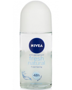 Nivea Fresh Natural Deodorant Roll-On  -  For Women  - 50 ml