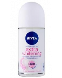 Nivea Extra Whitening Gentle Care Deodorant Roll-On  -  For Women  - 50 ml