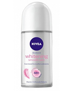 Nivea Whitening Smooth Skin Deodorant Roll-On  -  For Women  - 50 ml