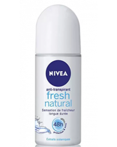 Nivea Fresh Natural Deodorant Roll-On  -  For Women - 2x25 ml