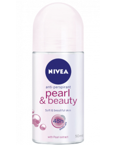 Nivea Pearl And Beauty Deodorant Roll-On - For Women  - 50 ml