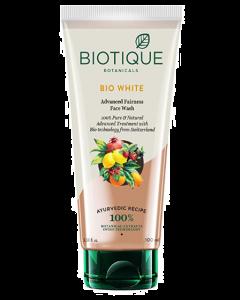 Biotique Bio White Whitening & Brightening Face Wash - 100ml