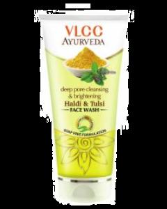 VLCC Ayurveda Skin Brightening Haldi & Chandan Face Wash Pack of 2