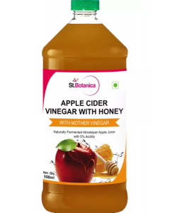 St.Botanica Apple Cider Vinegar with Honey with Mother Vinegar - 500ml