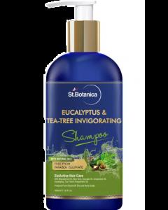 St.Botanica Eucalyptus & Tea-Tree Invigorating Shampoo - 300 ml