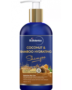 St.Botanica Coconut & Bamboo Hydrating Shampoo - 300 ml