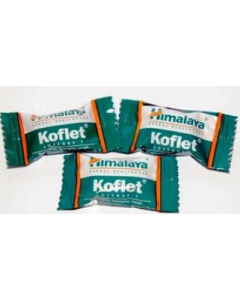 Koflet Lozenges - 6 Strips of 10 lozenges