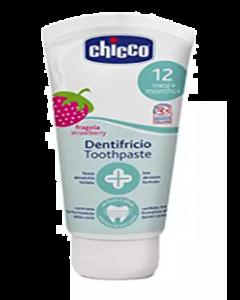 Chicco Dentifricio Toothpaste 12M+ Fragola Strawberry - 50 ml