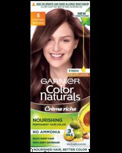 Garnier Color Naturals Hair Color 5 coffee Brown