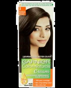 Garnier Color Naturals No3 Darkest Brown - 100ml