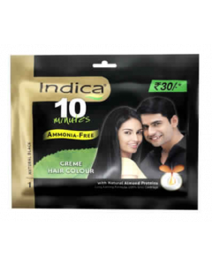Indica 10Min Creme Hair Color 20ml Black