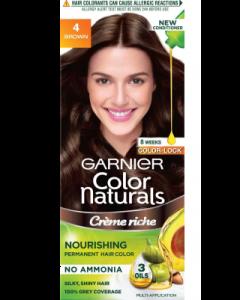 Garnier Colour Natural shade 4 - brown