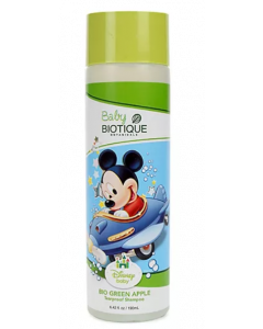 Biotique Disney Baby Green Apple Tearproof Shampoo (Mickey) - 190ml