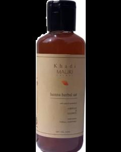 Khadi Mauri Herbal Heena Shampoo - 210 ml