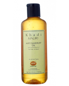 Khadi Mauri Herbal Anti Dandruff Shampoo - 210 ml