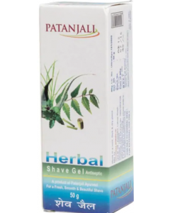Patanjali Herbal Shave Gel 50g
