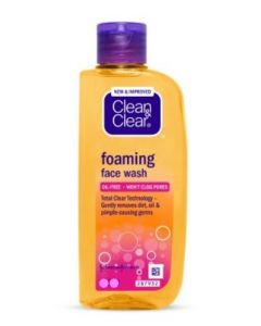Clean & Clear Foaming Face Wash - 150 ml