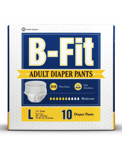 B-Fit Adult Diaper Pants L - 10 diapers