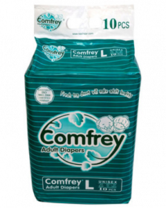 Comfrey Adult Diaper L - 10 diapers