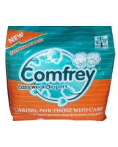 Comfrey Easy Wear Pant Type Adult Diaper Xl - 10 diapers