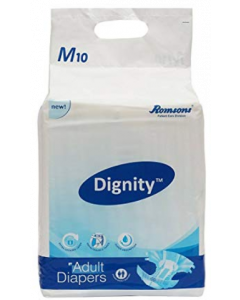 Dignity Adult Diaper M - 10 diapers