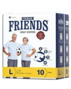Friends Easy Adult Diaper L - 10 diapers
