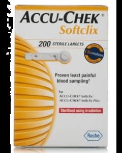 Accu-Chek - Softclix Lancets, Pack of 200 (Multicolor)