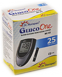 Dr Morepen Gluco One BG 03 Strip - 25 strips
