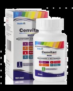 Healthvit Cenvitan Men Multivitamin & Multimineral Tablet - 60 tablets