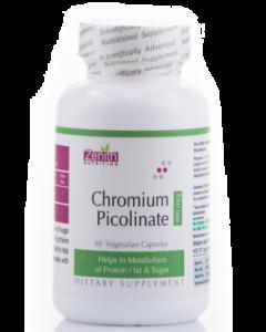 Zenith Nutrition Chromium Picolinate Capsule 800Mcg - 60 capsules