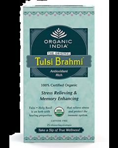 Organic India Tulsi Brahmi Tea - 25 tea bags