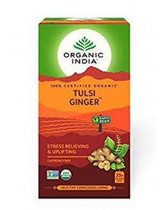 Organic India Tulsi Ginger Tea - 25 tea bags