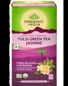 Organic India Tulsi Green Tea Jasmine - 25 tea bags