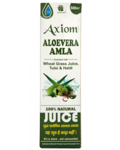 Axiom Aloevera Amla  Juice - 500 ml